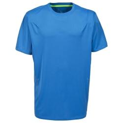 Trespass Uri kortärmad sportt-shirt för män S Ljusblå