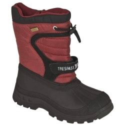 Trespass Youth Huskie Vattentät Snowboot 6 UK Röd