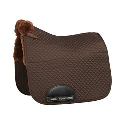 Weatherbeeta Merino High Wither Dressage Saddle Pad 17 inches Ch