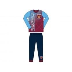 West Ham United FC Barn- / barnpyjamas 4-5 yrs Blå röd
