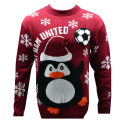 West Ham United FC Nyhet jul Jumper S Burgundy