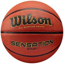 Wilson Sensation Basket 6 Orange