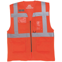 Yoko Herr Cool Mesh Hi-Vis Safety Vest L Hej Vis Orange