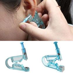 12X Engångsverktyg för öronmunnen Piercer Studs white