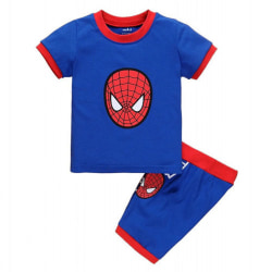 Batman Barnpojkar T-shirt + Shorts Set Home Wear Spiderman 90cm