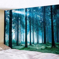 Europeisk och amerikansk dekoration för sovrumsnaturskog A
