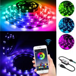 RGB Color Change LED Strip Lights DIY Mode Controlled Lighting RGB-5M