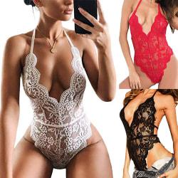 sexiga underkläder - sexiga spetsar sexiga delar för kvinnor - sexiga un Black M