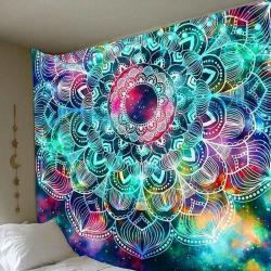 Tapestry vägg hängande filt strand hem matta överkast 200*150cm