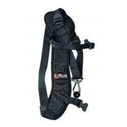 Kamerarem med säkerhetsbindning för bl.a. Canon och Nikon Black one size