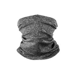 Klassisk bandana med filterficka (tio extra kolfilter) Mörkgrå one size