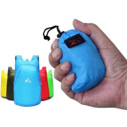 Kompakt vikbar vattentät ryggsäck Svart one size