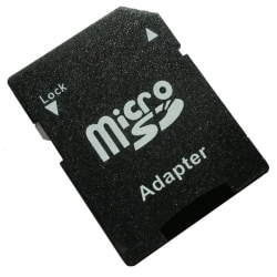 Micro-SD card Klass 10 - 64GB Svart