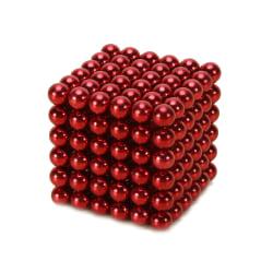 Neocube magnetkulor - 216 stycken Röd