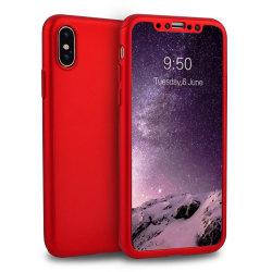 PC Case 360 iPhone XR Röd