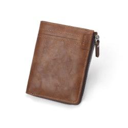 Plånbok med RFID-blockering  Brun one size