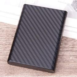 RFID aluminiumkort / plånbokshållare Svart one size