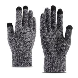 Touchfingervantar från iWinter grå one size