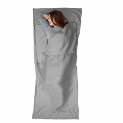 Ultralight Portable Outdoor Sleeping Bag Liner grå