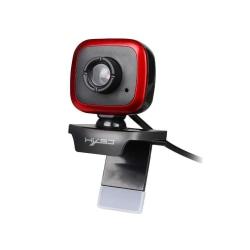 Webbkamera 360 grader Röd one size