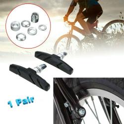 1 par V Bromsblock Pad Cykel terrängcykel