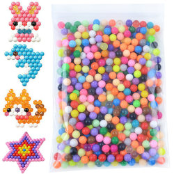 3000pcs Water Fuse Beads Refill 34 Crystal Mixed Colors Pack DIY 3000 pieces