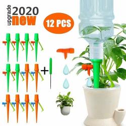 12st växt vattning droppbevattning inomhus utomhus vattenspets 12Pcs