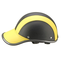 Vuxen cykelhjälm Justerbar säkerhet utomhus skyddshuvud yellow