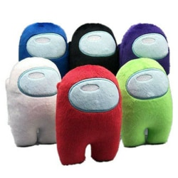 Among Us Game Plush Soft Stuffed Toy Dolls Kid Xmas Gift Red