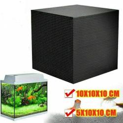 Akvarium vattenrenare filtrerar starkt och absorberar smuts 10*10*5cm