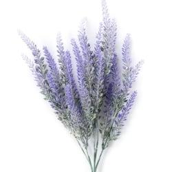 Artificial Purple Lavender Bunch Wedding Party House Decor purple