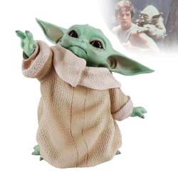 Baby Yoda PVC Figure Collectible Model Toy Doll Cute Gifts