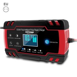 Car Battery Charger 12V 24V Volt Battery Repair EU