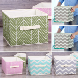 Collapsible Underbed  Storage Boxes Organizer With Handles Pink leaves