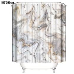 Digital Printing Polyester Waterproof Shower Curtain