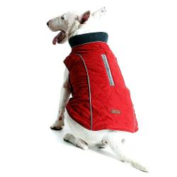 Dog Jacket Rain Coat Clothes Suit Harness Vest Pet Puppy Red 3XL