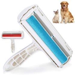 Roles /Hair Remover Hund Pet Katt Hair Fluff Remover Brush Clean blue
