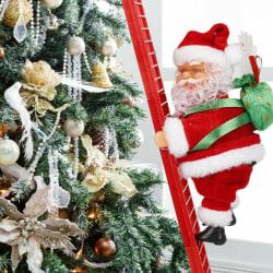 Electric Climbing Ladder Santa Claus Christmas Xmas Party Decor
