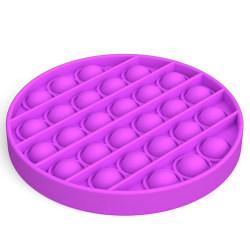 Pop it Fidget Toy Bubble Sensory Fidget Toy Purple Round