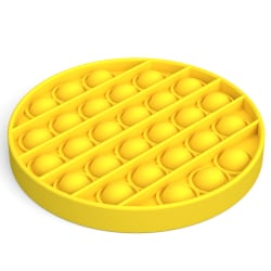 Pop it Fidget Toy Bubble Sensory Fidget Toy Yellow Round