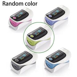 Finger Monitor Heart Fingertip Pulse  Blood Saturation Random Color