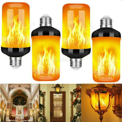 Flame Effect Flickering Fire Light Bulb Bulb Lamp Decor Holiday E14