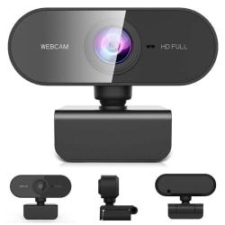 Full HD 1080P Webcam Microphone Camera Windows PC Laptop