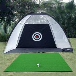 Golf Practice Net Golf Sport Indoor Outdoor Black 200cm