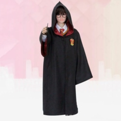 Harry Potter Magic Robe Cosplay School Uniform Cloak Halloween Red 155