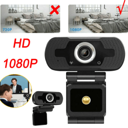 HD 1080P Computer USB Vedio Cameras with built-in Microphone 1080P