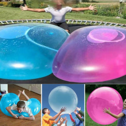 Inflatable Ball Water Balloon Kids Boy Girl Beach Toys Blue L