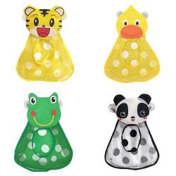 Kids Bath Toy Storage Organiser Duck Frog Toy Holder Bathroom Tiger