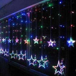 LED Star 2M Strip Light Curtain Window Christmas Lighting Decor Multicolor