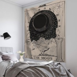 Vardagsrumsdekor Tarot Card Wall Hanging Poster Tapestry Hot A A 95*73CM